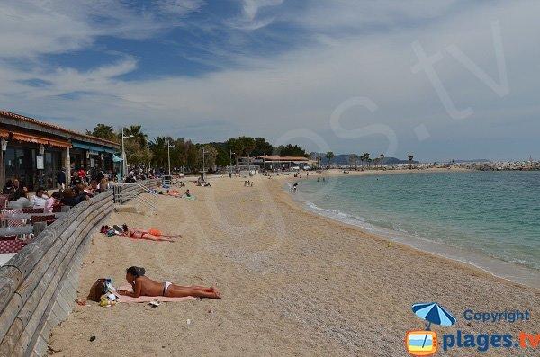 Plage de Mourillon en mai - Toulon