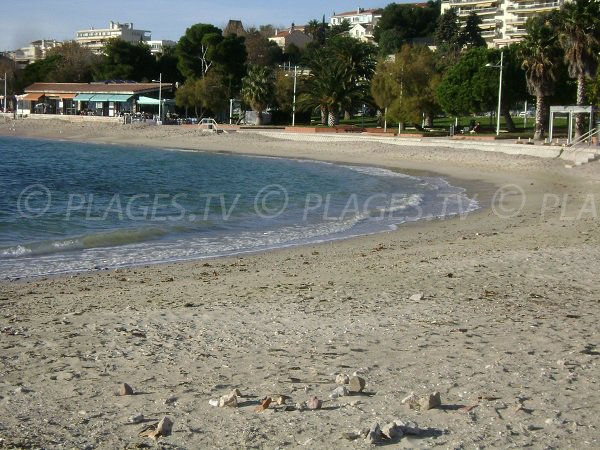 Anse of Source - Mourillon beaches in Toulon