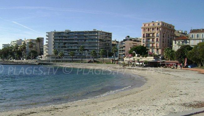 Plage du Mourillon à Toulon