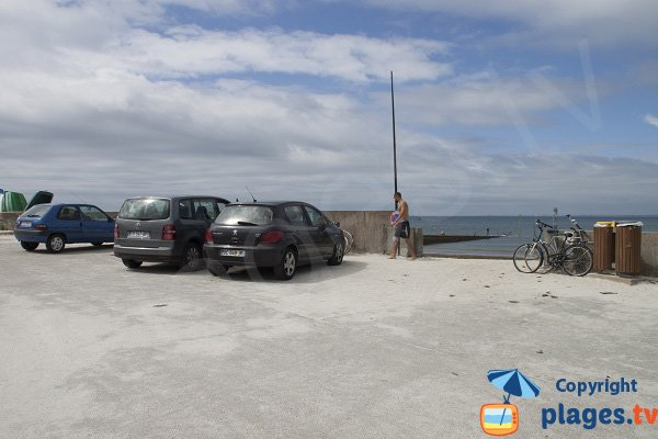 Parking de la plage de Mousterlin - Fouesnant