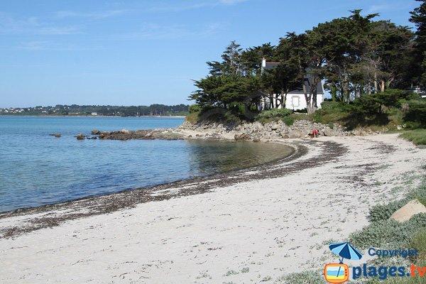 Photo de la plage du Mouton de Pleumeur Boudou