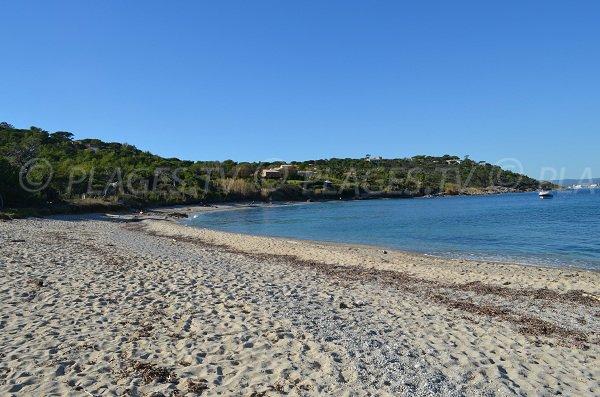 Plage de sable de la Moutte - Saint-Tropez