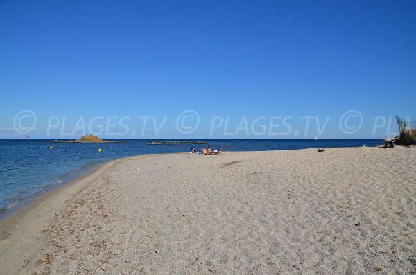Pointe de la plage de la Moutte - Saint-Tropez