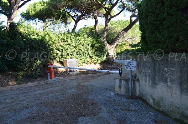 Accesso spiaggia della Moutte - Saint-Tropez