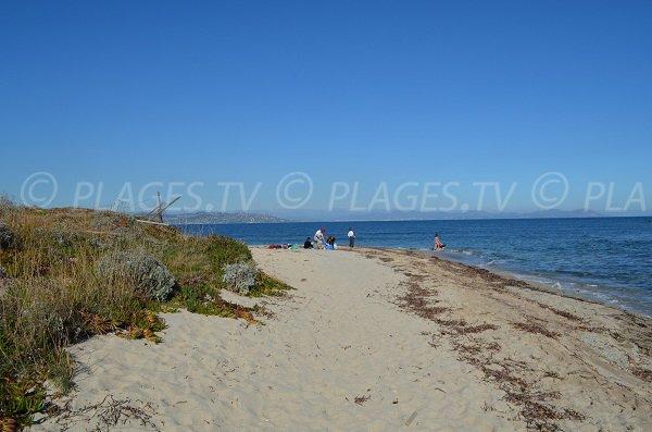 Punta della spiaggia di la Moutte