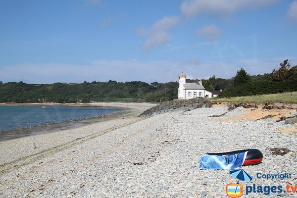 Photo de la plage de Nantouar à Louannec