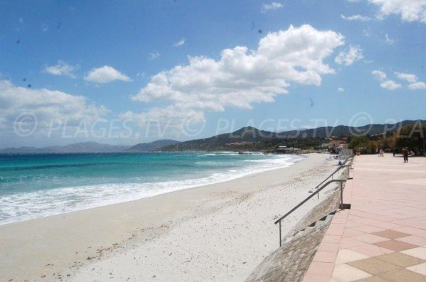 Sabbia bianca - Spiaggia Ile Rousse