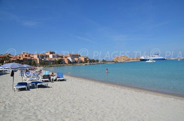 Ile Rousse et sa plage de sable blanc