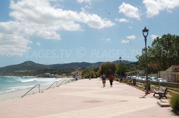 Promenade Marinella à l'Ile Rousse