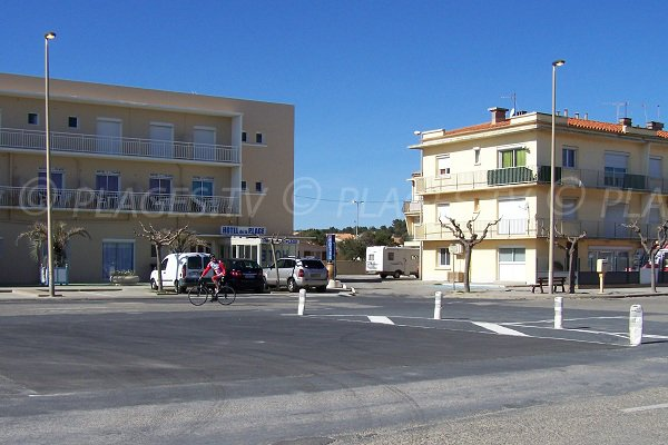 Buildings in Narbonne-Plage