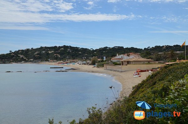 Photo of Nartelle beach in Ste Maxime in France