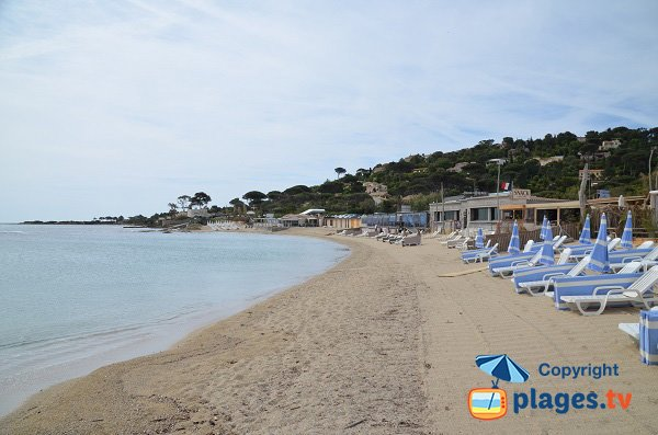 Private beach in Sainte-Maxime - Nartelle