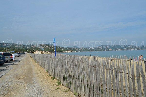 Parking of Nartelle beach