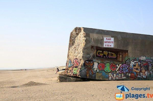 Blockhaus on the naturist beach - Berck