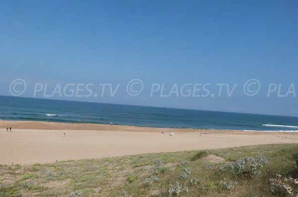 Beach north of Hossegor