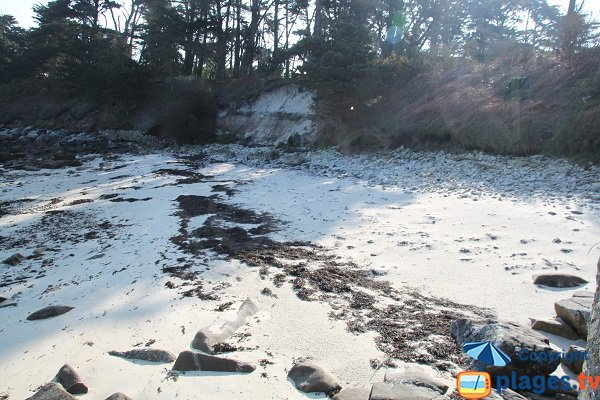 Sand naturist beach of Perharidi - Roscoff