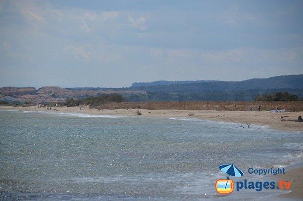 Spiaggia nudista di Fleury d'Aude