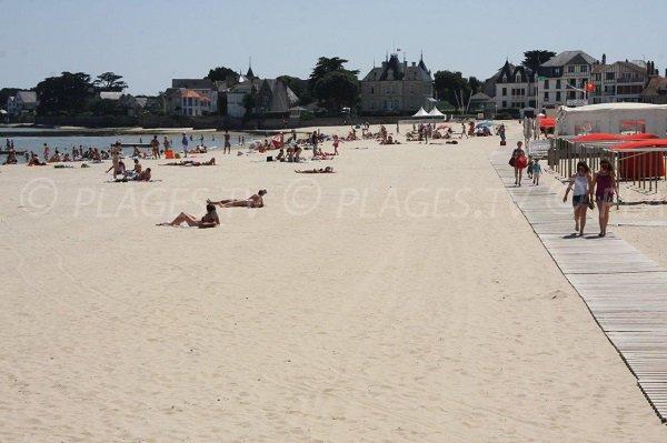 Photo de la plage du Nau à Pouliguen