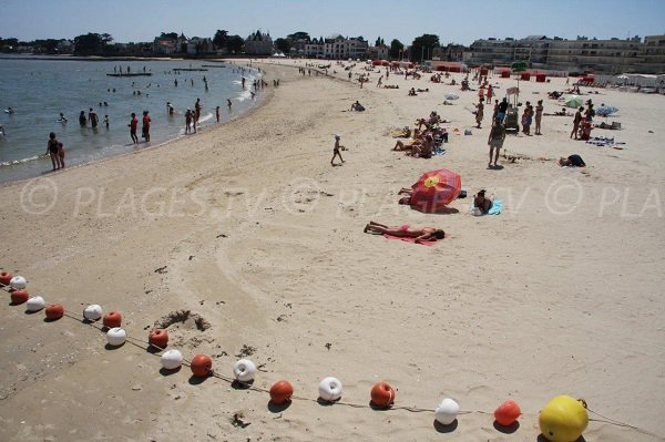 Pouliguen e la sua spiaggia sabbiosa