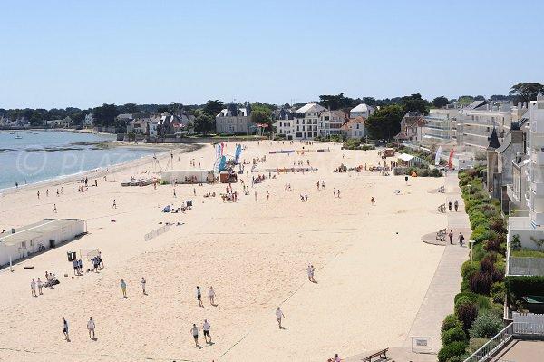 Spiaggia di Nau a Pouliguen - Francia