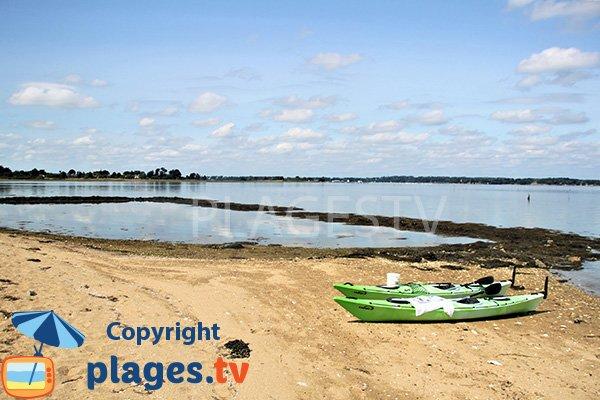 Accès à la plage de Nénézic - Ile d'Arz