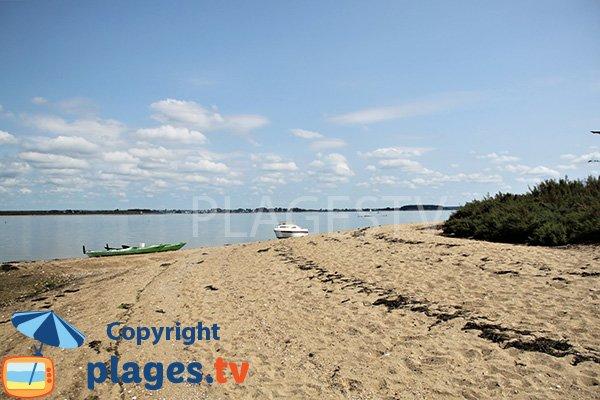 Photo de la plage de Nénézic de l'ile d'Arz