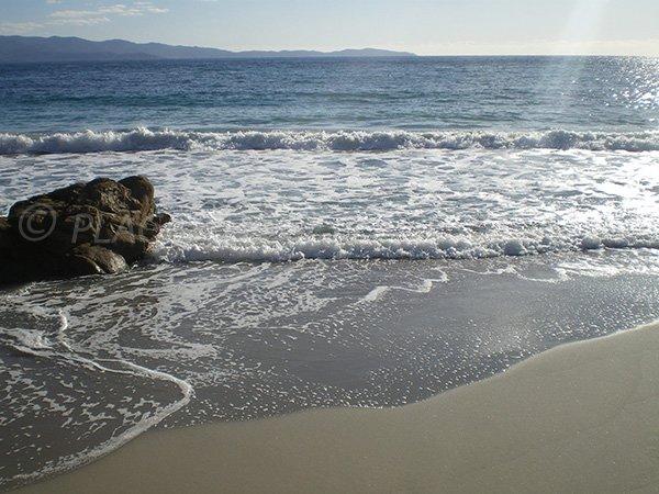 Plage privée en Corse, Ajaccio - Neptune