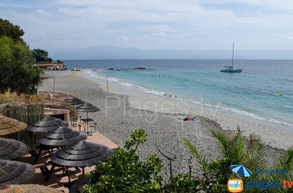 Photo of Neptune beach in Ajaccio - Corsica