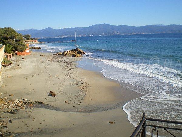 Plage Neptune à Ajaccio