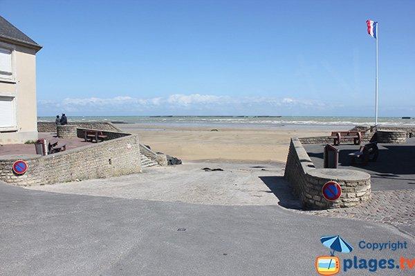 Ramp Neptune in Arromanches les Bains