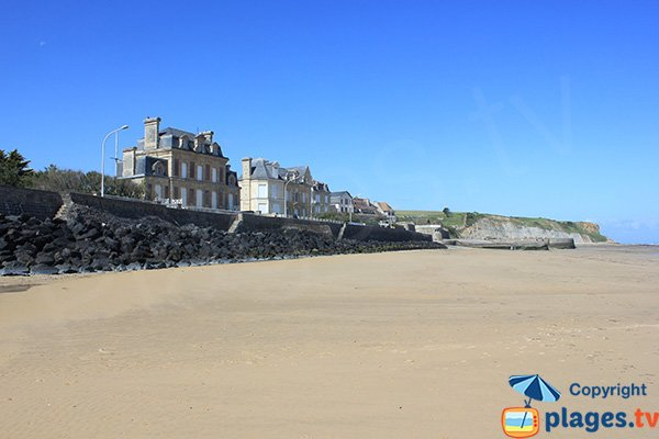 Photo of Neptune beach in Arromanches les Bains - France