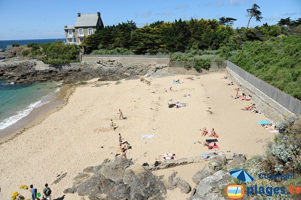 Photo of the Nicet beach in St Malo in France