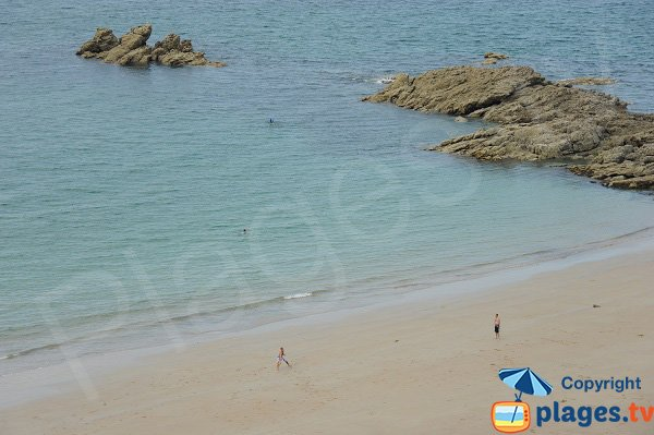 Confidential beach in Saint-Lunaire - Nick Tip