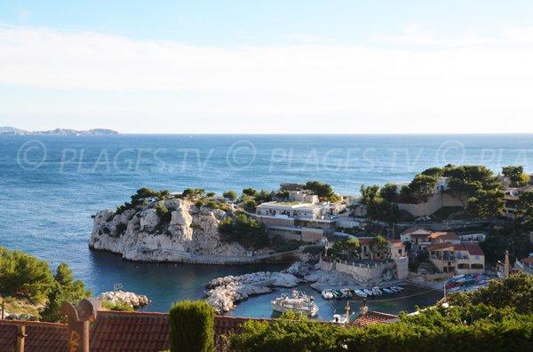 Photo of the calanque of Niolon in Le Rove near Marseille