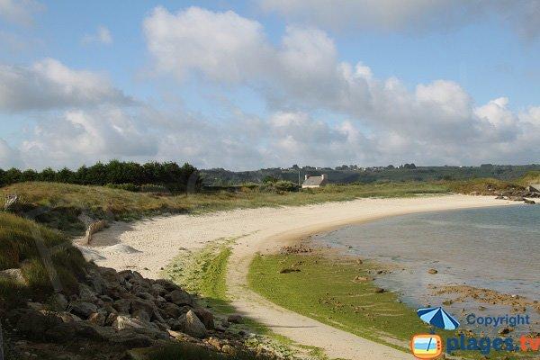Photo de la plage de Nod Even à Guissény