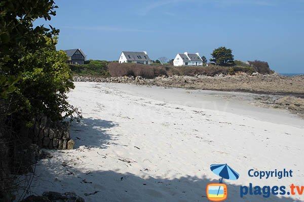 Plage de sable à proximité du port de Mogueric - Nod Evenn
