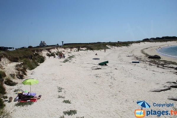 Photo de la plage de Nodeven Ruduloc à Kerlouan
