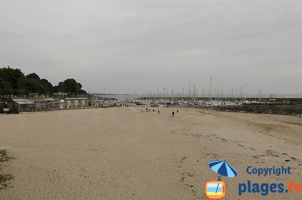 Photo de la plage de Noeveillard à Pornic