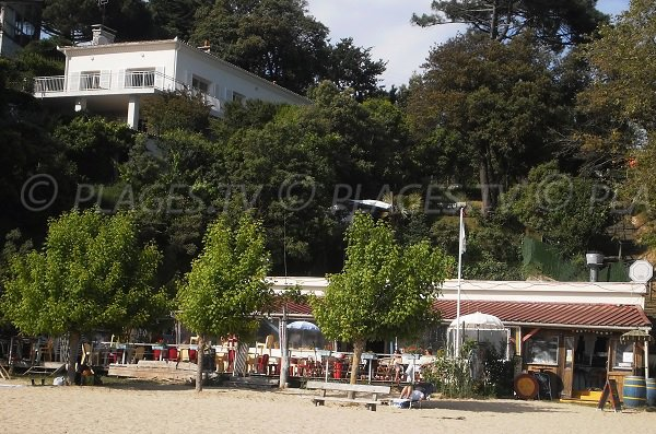Restaurant on Nonnes beach - Meschers
