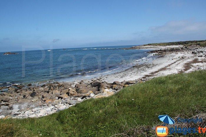 Ile de Batz: plages Nord
