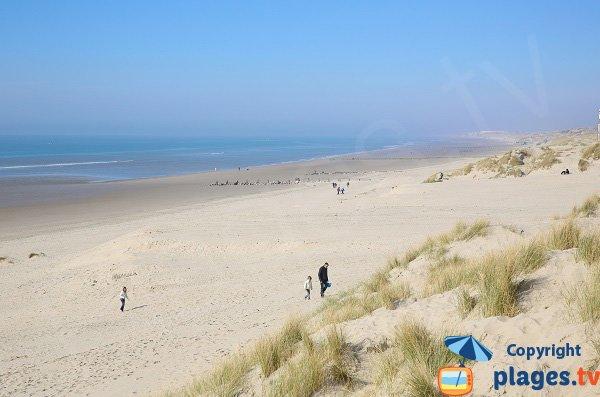 Spiaggia a nord di Berck