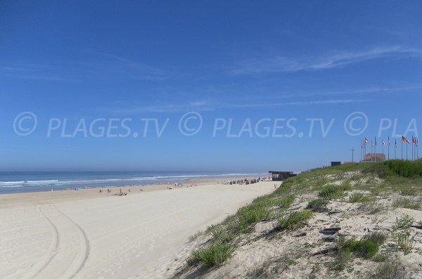 Photo de la plage Nord de la Corniche à Mimizan