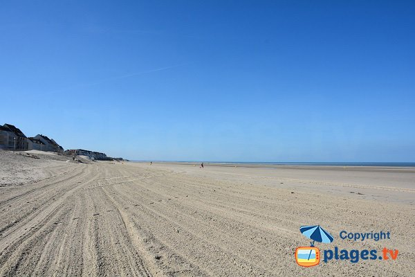 North beach in Fort Mahon - south view