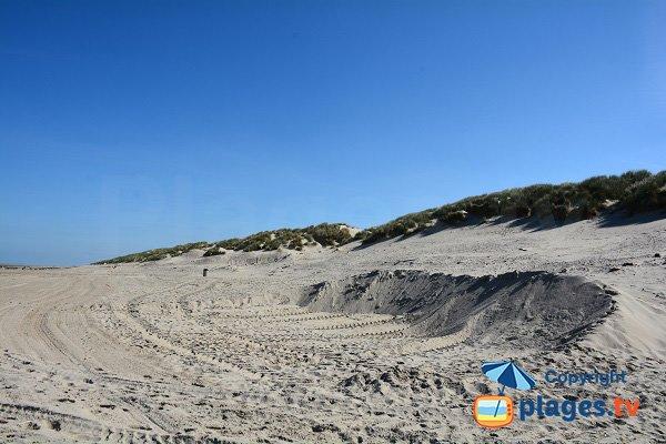 Dunes à Fort Mahon