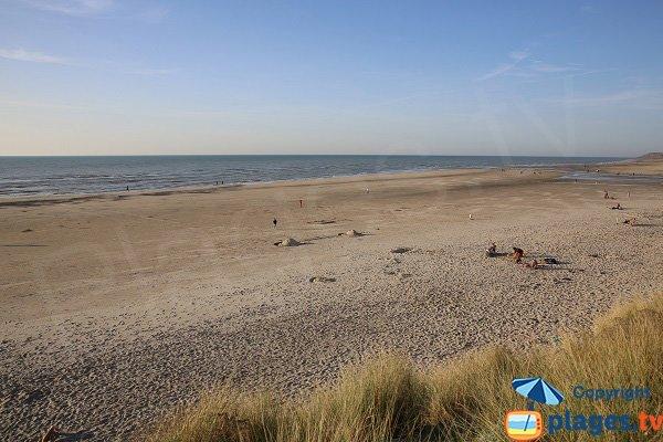 Spiaggia alla foce del Becque - Hardelot