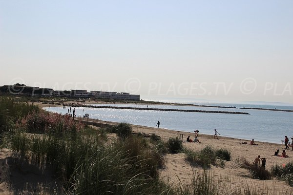 Photo of North beach of Port Camargue