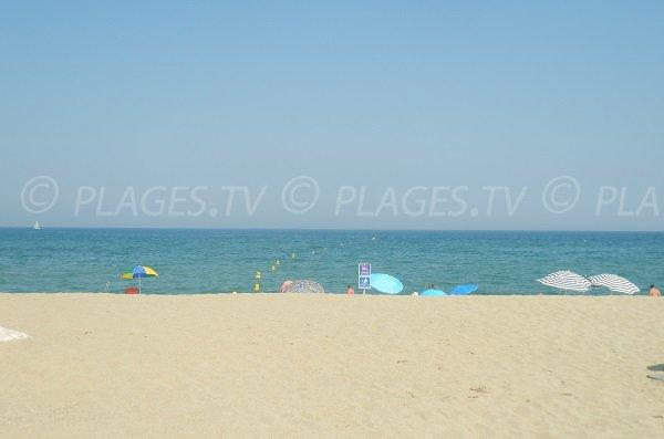 Photo de la plage Nord de Sainte-Marie 66