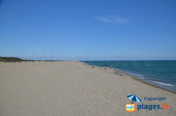 Foto della spiaggia Nord di Sainte-Marie - Francia