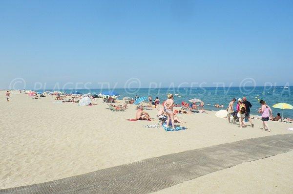 Spiaggia del Camping Municipale di Sainte-Marie - Francia
