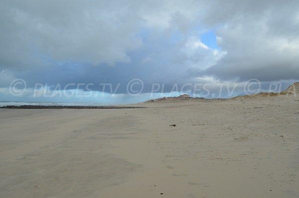 Spiaggia Nord di Soustons in Francia